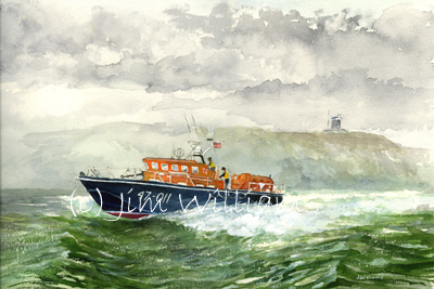 Angle Lifeboat painting